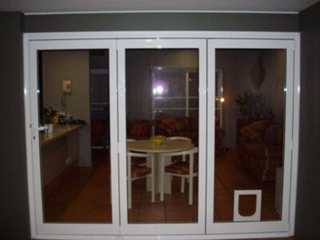 3 Leaf Bi Fold Doors Closed