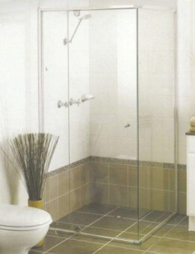 Semi Frameless Shower Bath