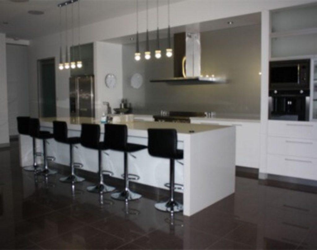 Kitchen Cooking Area Glass Splashbacks